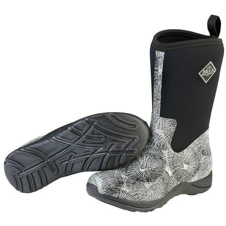 367d163adb3 Muck Boot Women's Arctic Weekend Snow Boots Grey Neoprene Rubber Fleece 5 M