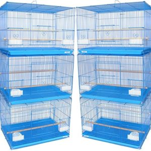 "A and E Cage Co. Case of 4 24""x16"" Flight Cage - Purple"