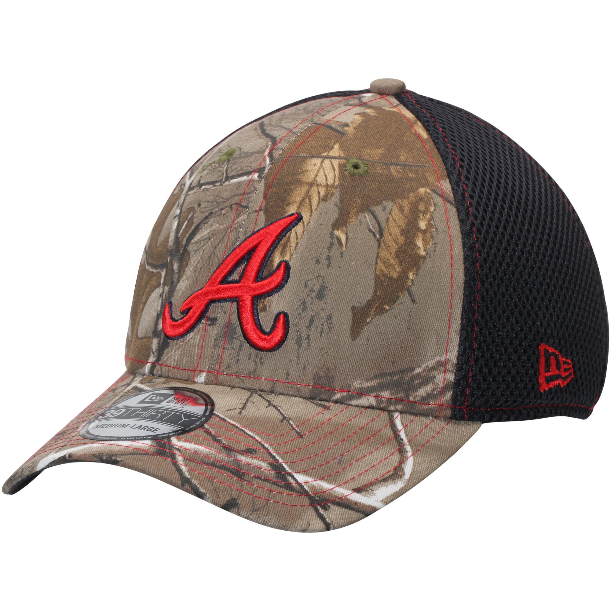 Atlanta Braves New Era Neo 39THIRTY Flex Hat - Realtree Camo