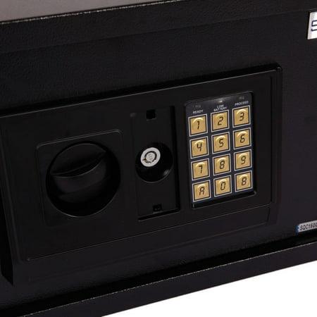 "Ktaxon Digital Electronic Safe Box Keypad Lock 13.85"" Home Office Hotel Gun Security Box"