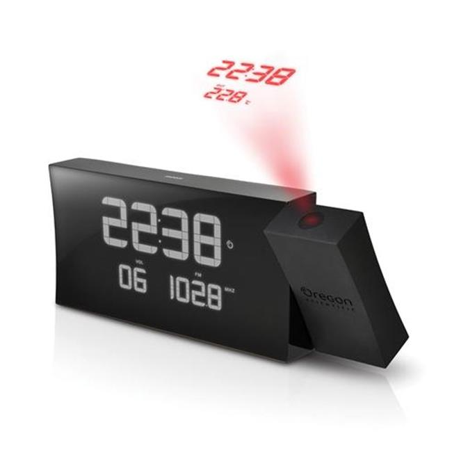 Oregon Scientific OR-RRM222PA-BK Projection Radio Clock