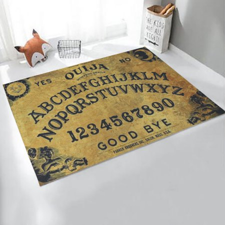 New Ouija Board Spirit Magick Non Slip Indoor Outdoor Door Mat Rugs
