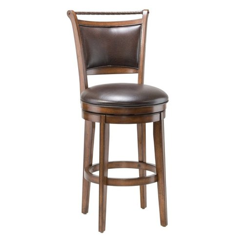 Hillsdale Furniture 4298-8 Calais Swivel Bar Stool by Hillsdale Furniture