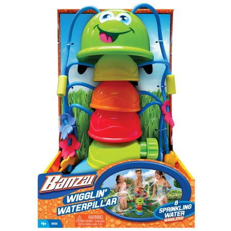 Banzai Wigglin' Waterpillar Backyard Outdoor Kids Fun Water
