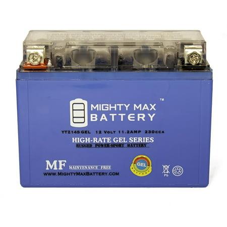 12V 11.2Ah GEL Battery Replacement for Yamaha V Star 950 XVS95YL (2009 Yamaha V Star 950 Sissy Bar)