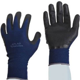 Foamed Nitrile Palm Grip Gloves, Large - (1 Pair)