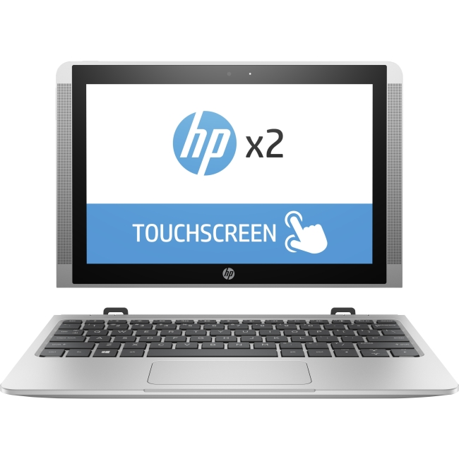 "HP 10-p010nr 10.1"" Laptop, Touchscreen, 2-in-1, Windows 10 Home, Intel Atom x5-Z8350 Quad-Core Processor, 2GB RAM, 32GB Flash Storage"