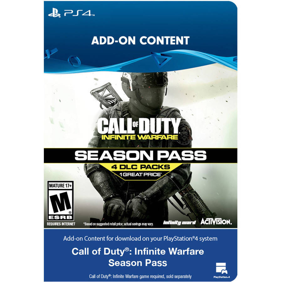 Sony PS4 COD IW Season Pass (email delivery)
