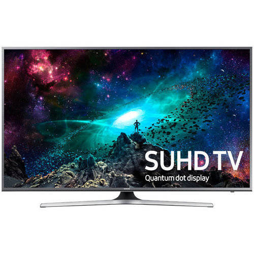 "Refurbished Samsung 60"" Class JS700D Series 4K Ultra HD, Smart, LED TV 2160p, 60Hz (UN60JS700DFXZA) by Samsung"