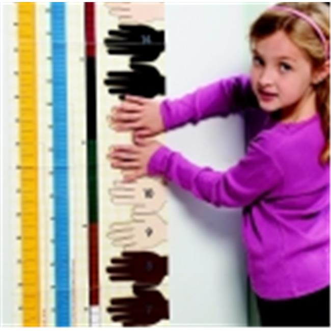 Didax Unifix Height Chart, Grades Prek-6