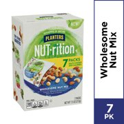 Planters Nutrition Wholesome Nut Mix Pack, 7 Pouches, 7.5 oz