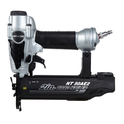 Factory-Reconditioned Hitachi NT50AE2 18-Gauge 2 in. Finish Brad Nailer Kit (Refurbished) by