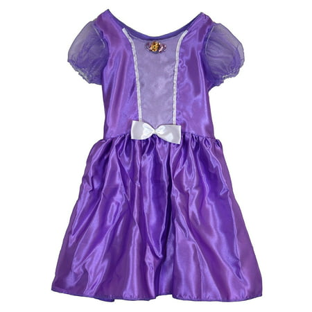 Disney Princess Sofia the First DRESS & TIARA SET (Fits sizes 4-6X)](Sofia The First Dress For Toddlers)