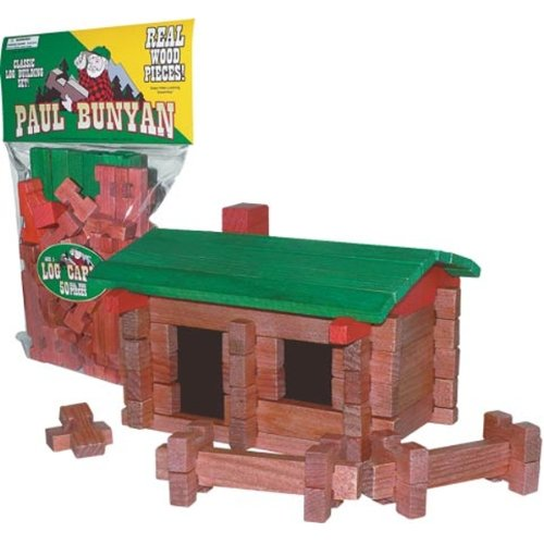 Paul Bunyan Log Building Set