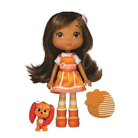 the bridge direct 12230 strawberry shortcake berry best friends orange blossom and marmalade doll,