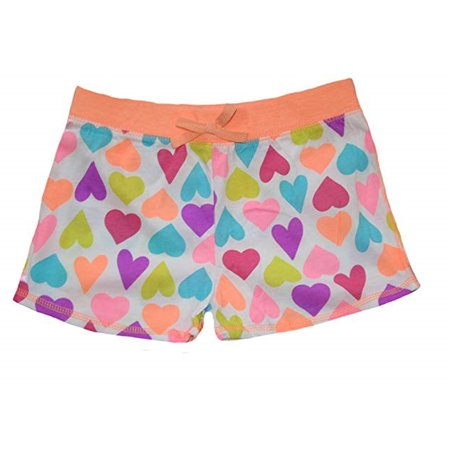 Okie Dokie Little Girl's Multi Hearts Shorts - FREE SHIPPING