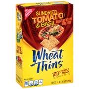 Wheat Thins Sundried Tomato & Basil, 9.5 oz