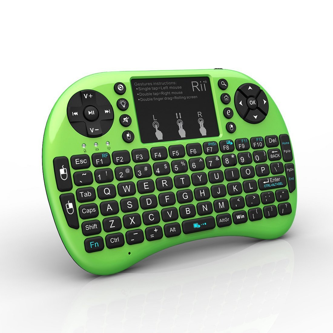 d8832f63190 mini keyboard Rii Mini i8+ 2.4G Wireless Keyboard with Touchpad for PC Pad  Google Andriod TV Box Red | Walmart Canada