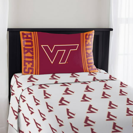 NCAA Virginia Tech Hokies Mascot Sheet Set, 1 Each