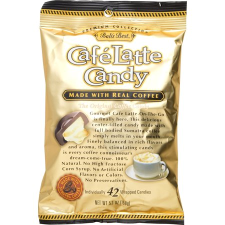 Bali's Best Cafe Latte Candy, 5.3 oz (Pack of 3)