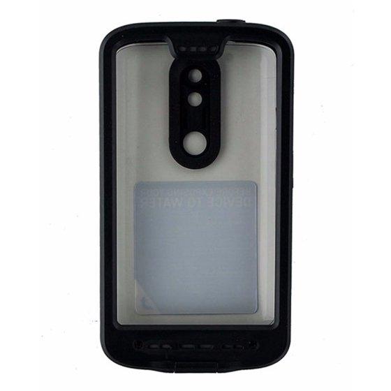 new arrival 9936a 79ca9 LifeProof FRE Series Waterproof Case for Motorola Droid Turbo 2 - Black  (Refurbished)