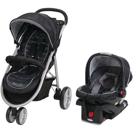 Graco Aire3 Click Connect 3 Wheel Stroller Travel System