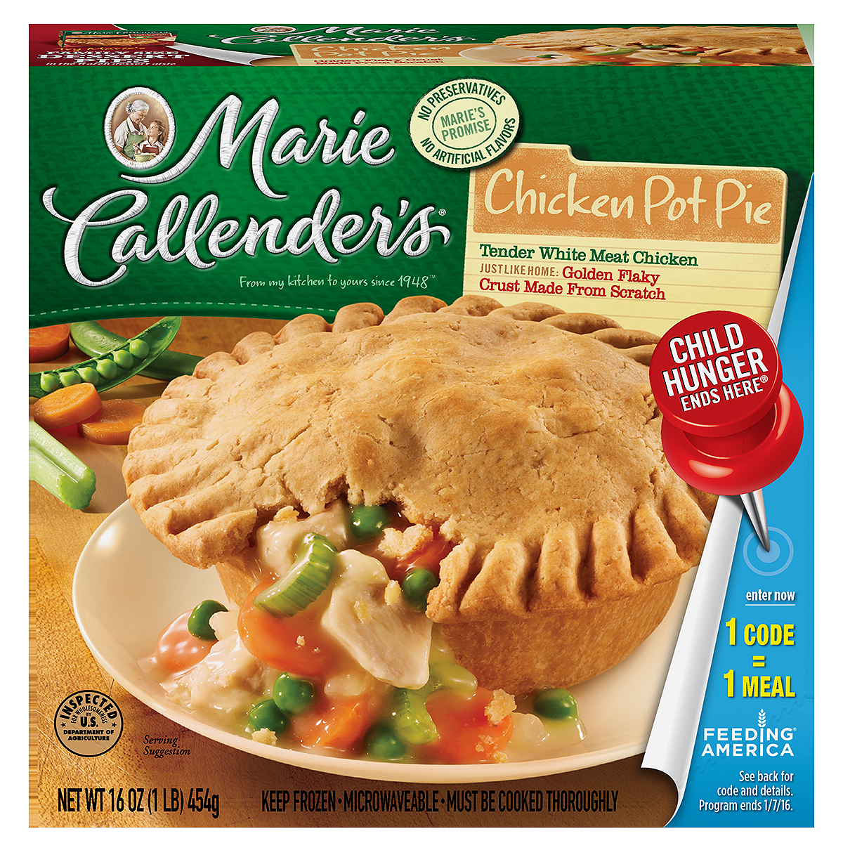 Marie Callender's Chicken Pot Pie, 16 oz