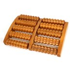 Durable Wooden Relaxation Massage Tools Foot Massager