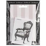 LaBlanche Silicone Stamp, 3.5 by 2.75-Inch, Armchair Multi-Colored