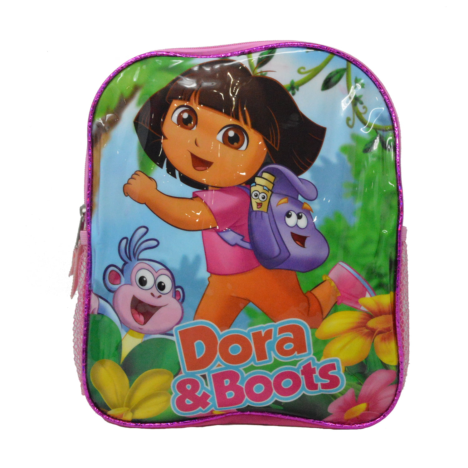 Dora The Explorer and Boots Back to School 12-inch Student Backpack Bag Pink by Accessory Innovations