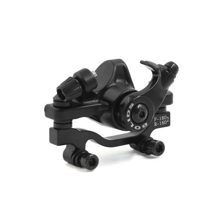 Mountain Bike Bicycle Mechanical Disc Brake Caliper Clamp for 180mm Front Rotors ()