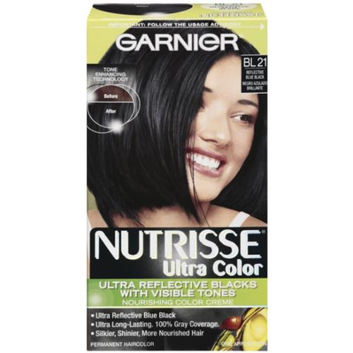 Nutrisse Ultra Color Nourishing Color Creme, BL21 Reflective Blue Black 1 Each (Pack of 2)
