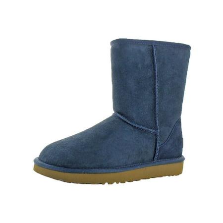 UGG - Ugg Womens Classic Short II Suede Lamb Fur Lined Casual Boots -  Walmart.com 8403744c01