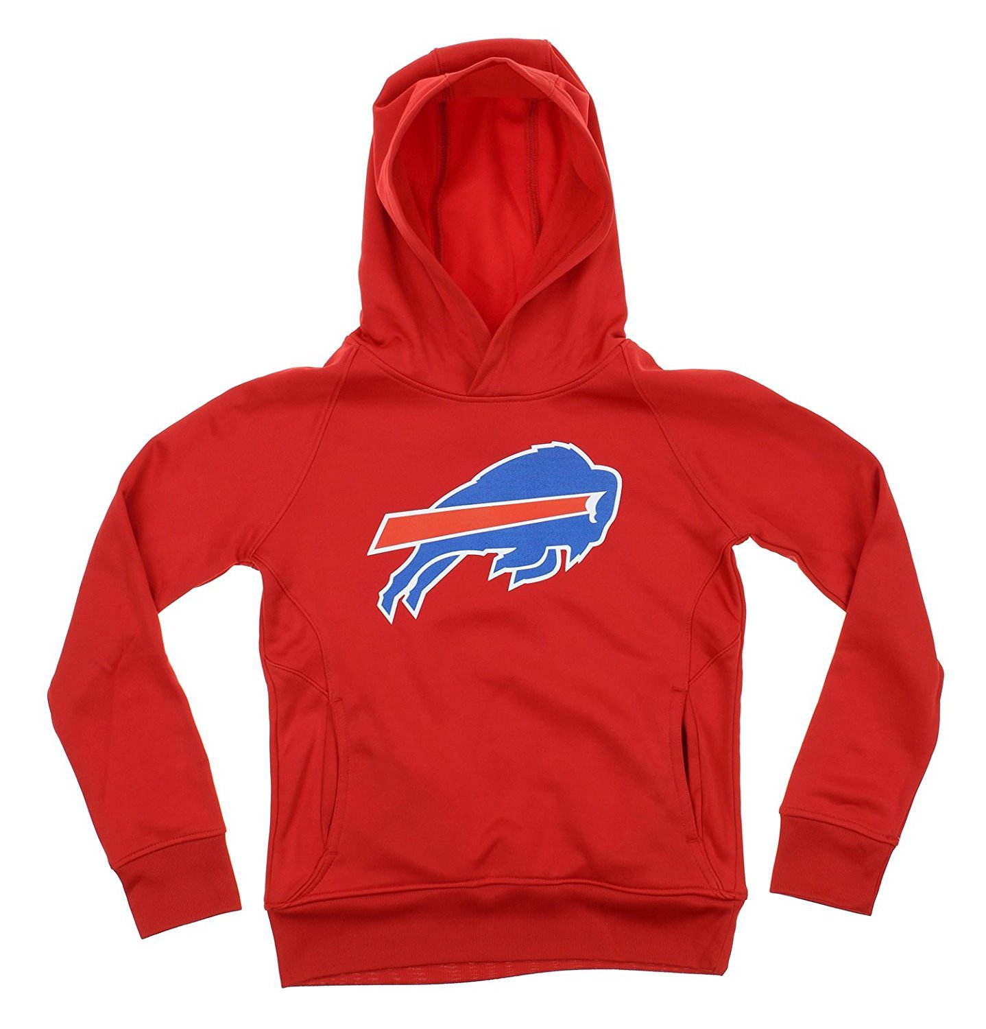 NFL Youth Buffalo Bills Primary Logo Performance Pullover Hoodie