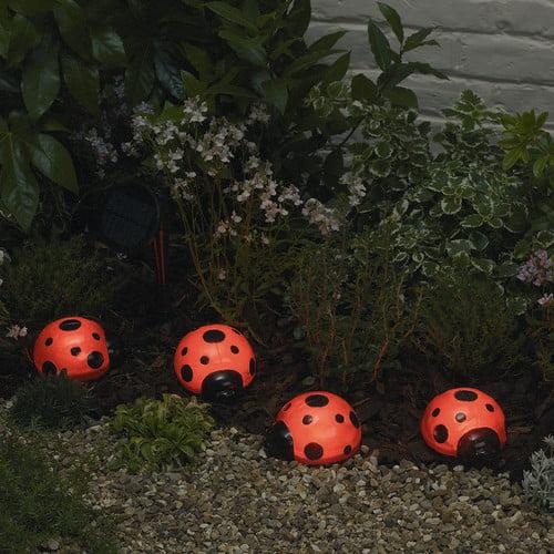 Solar Ladybugs - 4-Piece Set