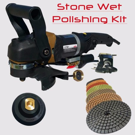 Stadea SWP105K Stone Concrete Countertop Grinder Polisher Wet Stone 4
