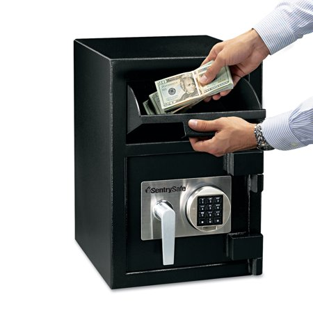 Sentry Safe Digital Depository Safe, Large, 0.94 ft3, 14w x 15 3/5d x 20h, Black (Sentry Safe X Large)