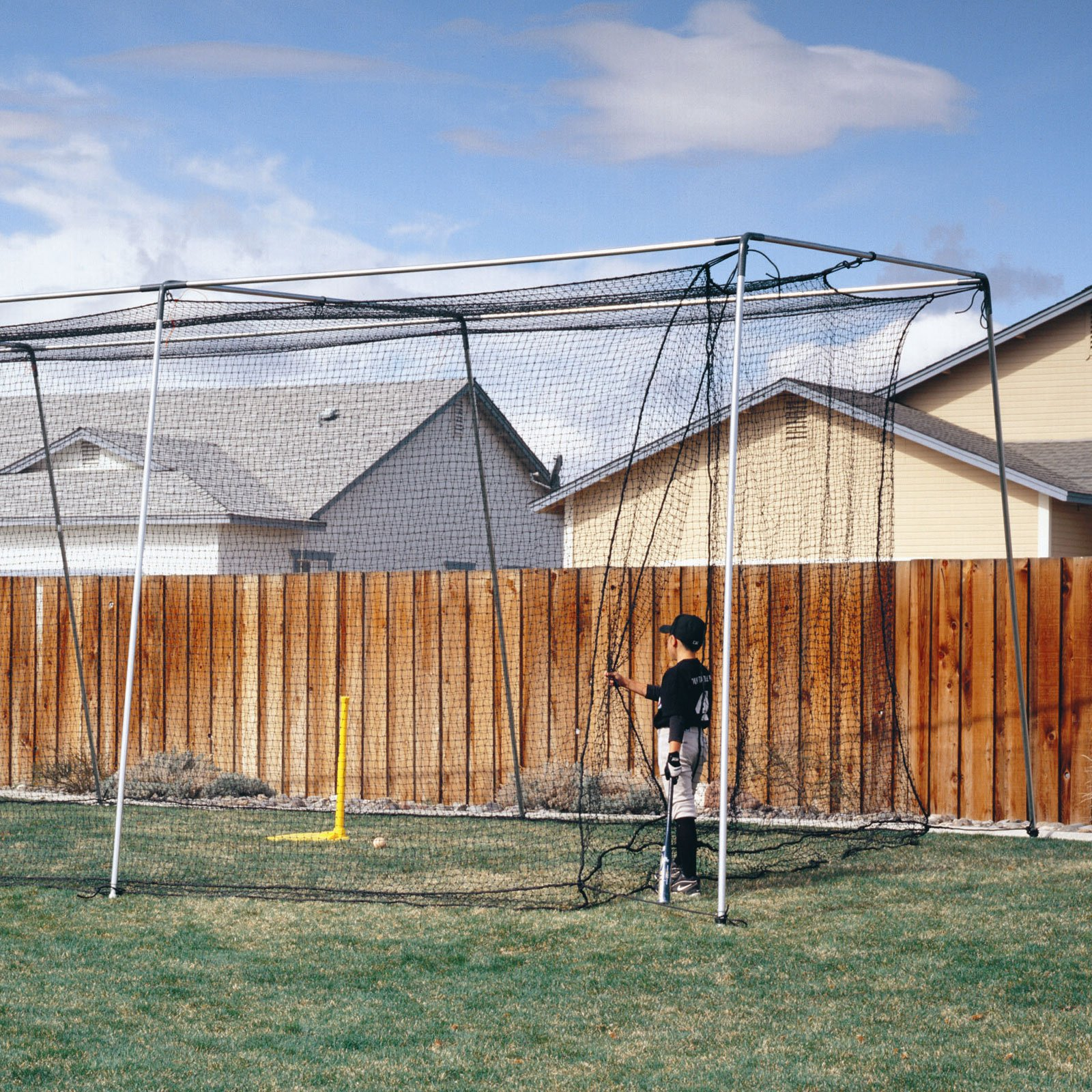ATEC Backyard Batting Cage Replacement Net - 70L ft.