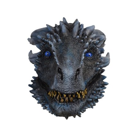 Game of Thrones Season 7 White Walker Dragon Mask Halloween Costume Accessory