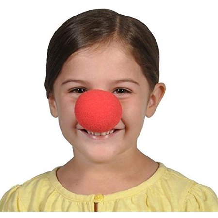 Red Foam Clown Nose - Pack of 12 2 inches Cool and Fun Clown Costume Nose - Novelty & Gag Toys, Party Favor, Party Bag Stuffer, Party Giveaway, Gift Ideas- By Kidsco