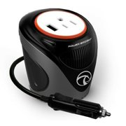 Power Bright XC180 Cup Inverter, 180-watt 12V DC cigarette lighter to 120V AC...