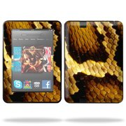 "Skin Decal Wrap for Kindle Fire HD 7"" inch Tablet cover Brown Butterfly"
