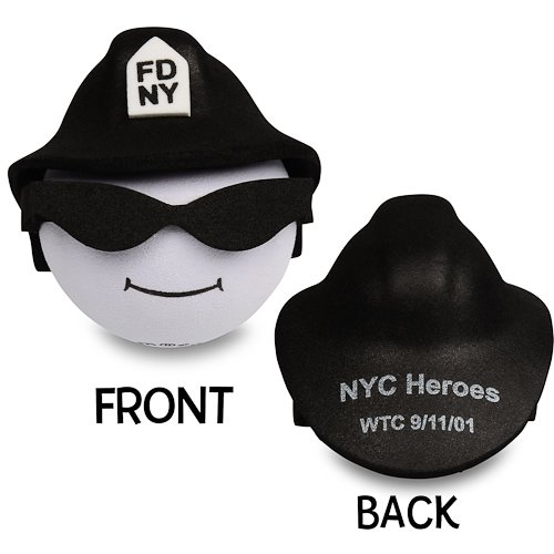 New York Fire Department (FDNY) Fireman Antenna Topper