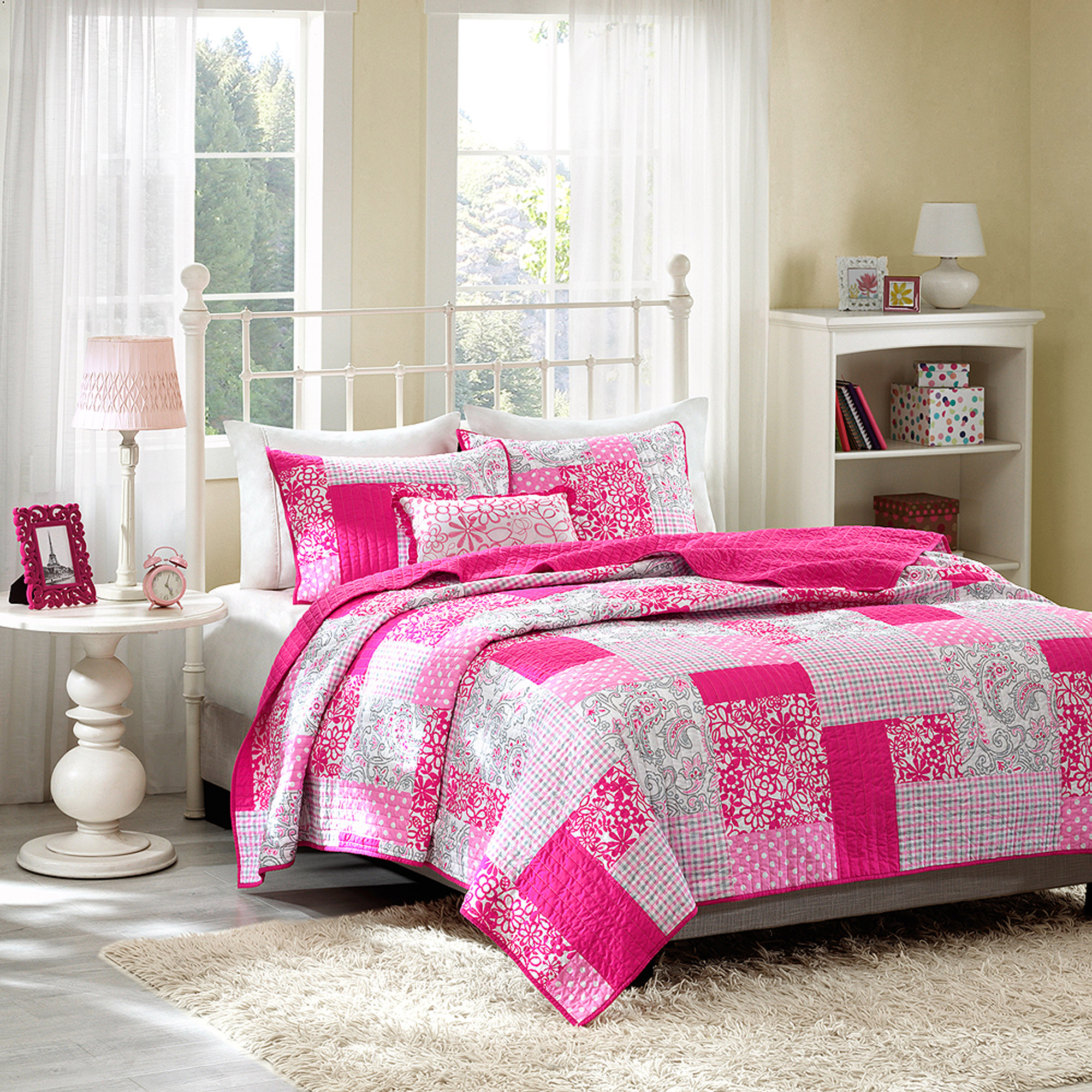 Home Essence Teen Katie Quilted Coverlet Bedding Set