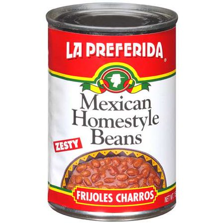LA Preferida: Zesty Mexican Homestyle Beans, 15 Oz