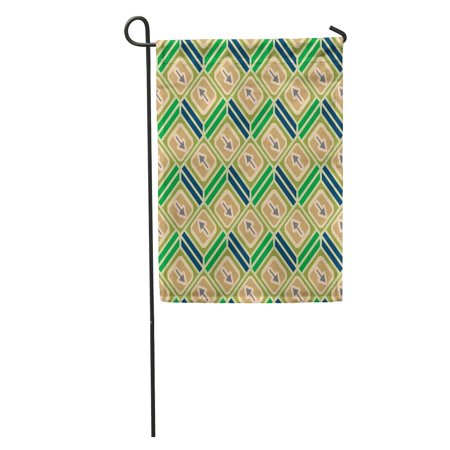Arrow Mobile (SIDONKU Accent Abstract Pattern Arrows on Button Bottom Cellphone Download Dropbackground Garden Flag Decorative Flag House Banner 12x18 inch )
