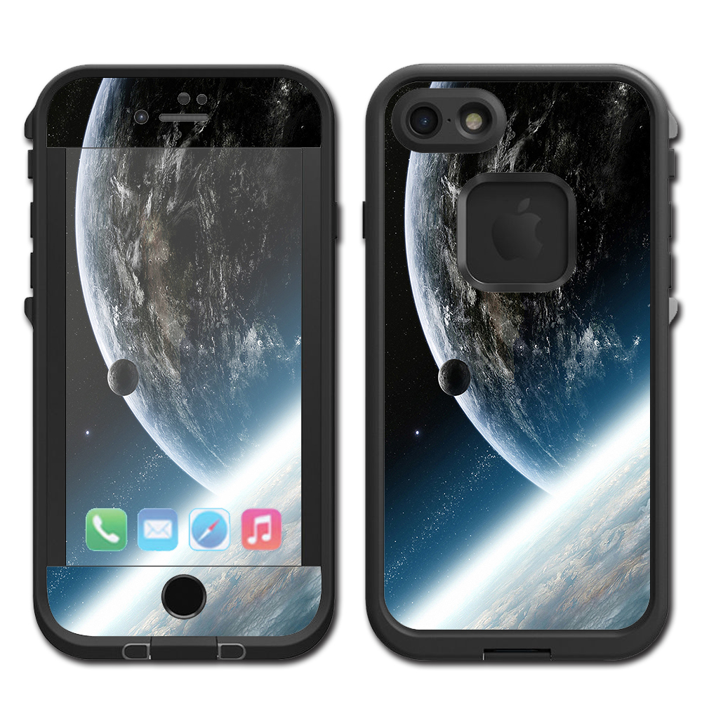 Skins Decals For Lifeproof Fre Iphone 7 Case / Earth From Space