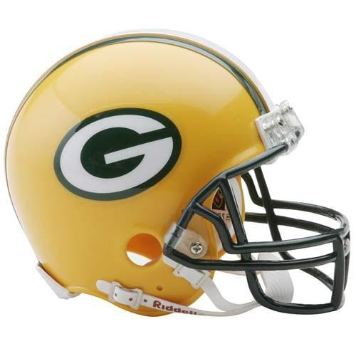 Collectible Replica NFL Football Helmet - Green Bay Packers