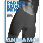 Andiamo Men's Padded Skins: Black; 2XL