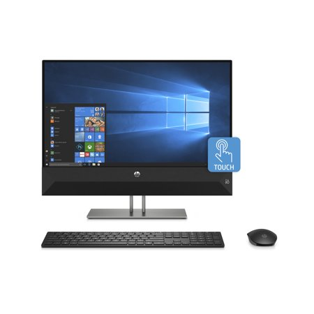 "HP Pavilion 24 All-in-One PC 23.8"" Touchscreen, Intel Core i5-8400T, Intel UHD Graphics 630, 1TB HDD + 16GB Optane memory, 4GB SDRAM, Wireless Mouse and Keyboard, FHD Privacy Webcam, 24-xa0053w"